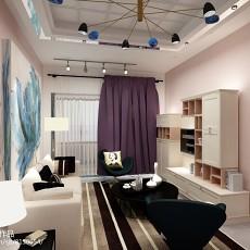 三居室室内装修效果图手绘欣赏