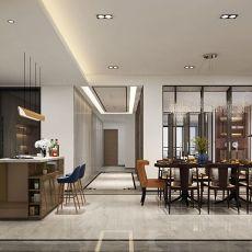 118平米四居客厅现代装修实景图