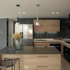 精选122平米日式复式厨房实景图片