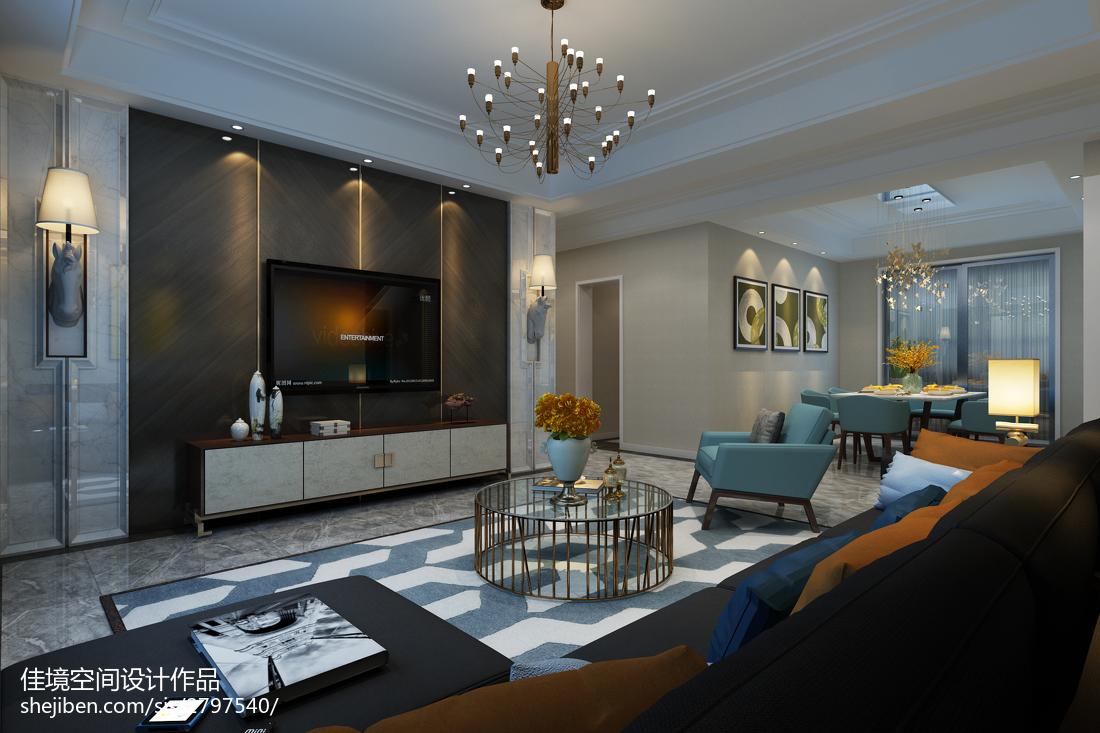 精选美式风格卧室设计装修图片