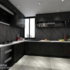 精选75平米现代小户型厨房装修设计效果图片大全