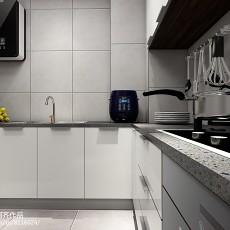 精美现代小户型厨房装修欣赏图