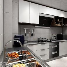 201881平米现代小户型厨房装修设计效果图片大全