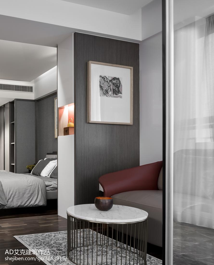 热门面积135平复式卧室中式效果图片欣赏