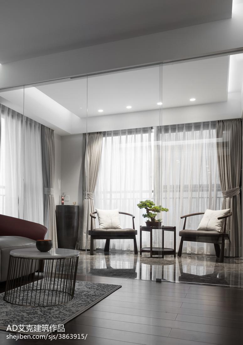 2018复式卧室中式装饰图