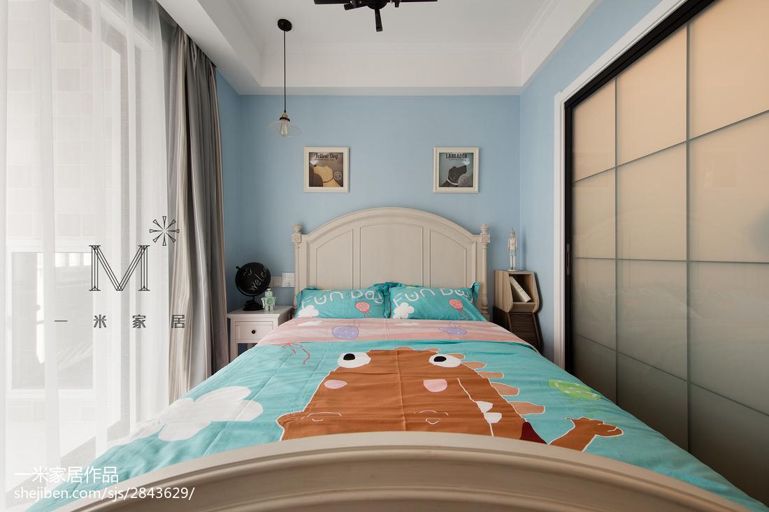 热门三居儿童房美式装修设计效果图