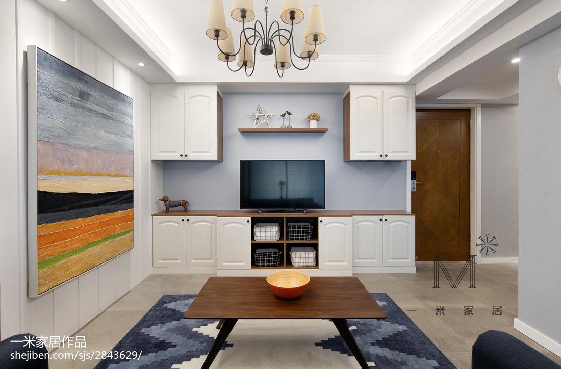 温馨86平美式三居设计案例