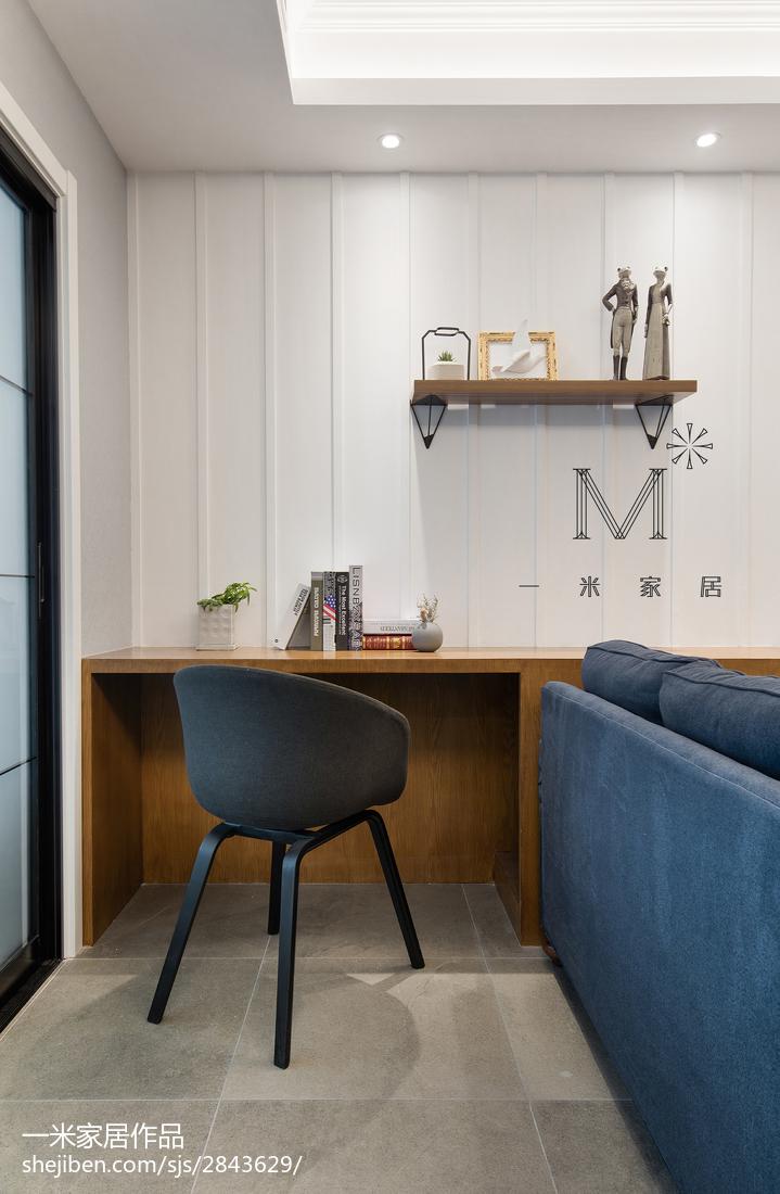 2018大小101平美式三居客厅装饰图片大全