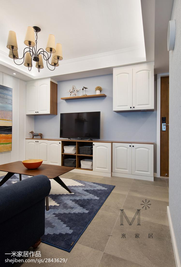 简洁111平美式三居装修装饰图
