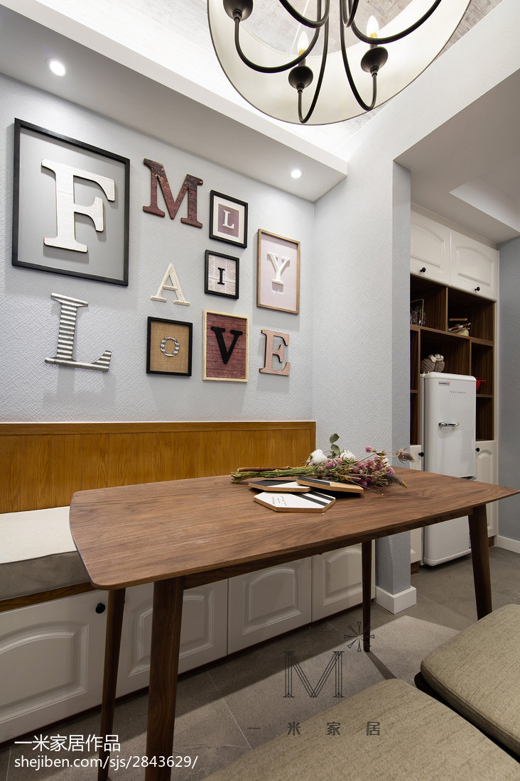 精美116平美式三居装修装饰图