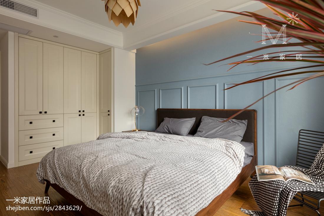 精选面积96平北欧三居卧室效果图片欣赏
