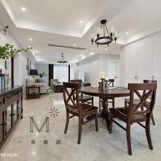 精美美式三居餐厅装饰图片欣赏