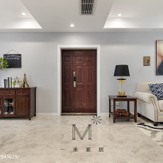 201895平米三居客厅美式设计效果图