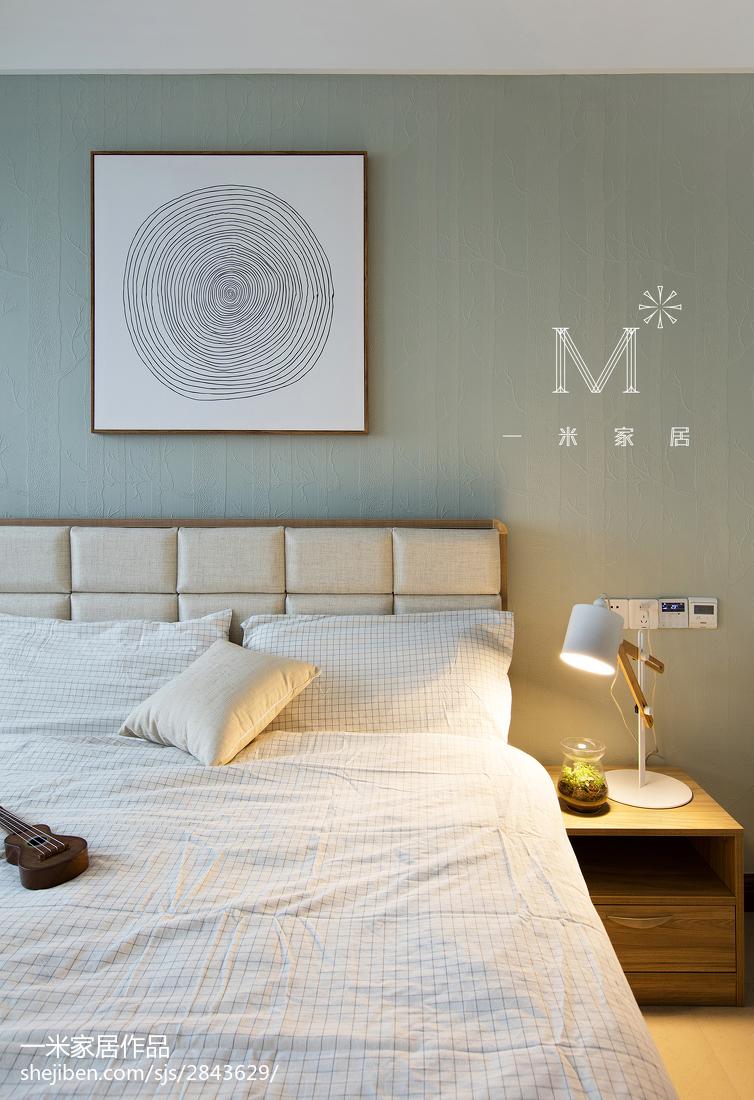2018面积137平中式四居卧室装修实景图片