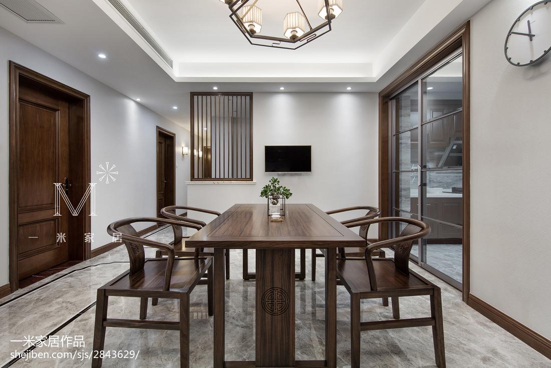 165m²新中式餐厅设计图