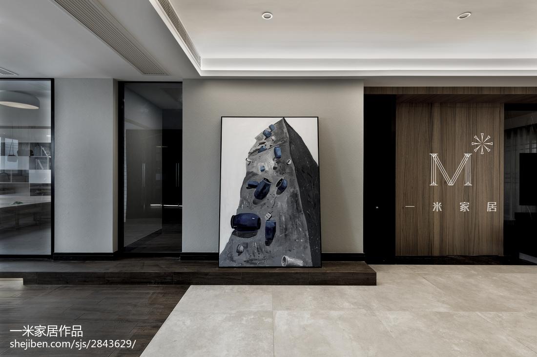 2018134平米四居客厅现代装修图片欣赏