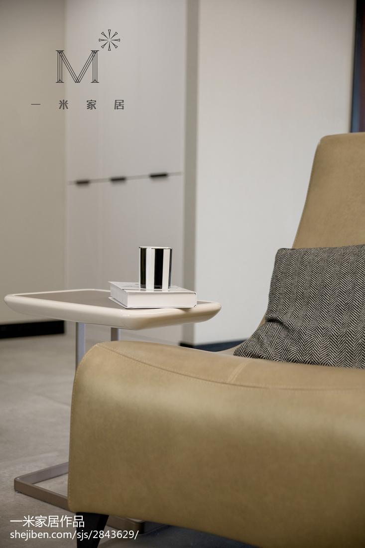 浪漫100平现代四居客厅装饰美图