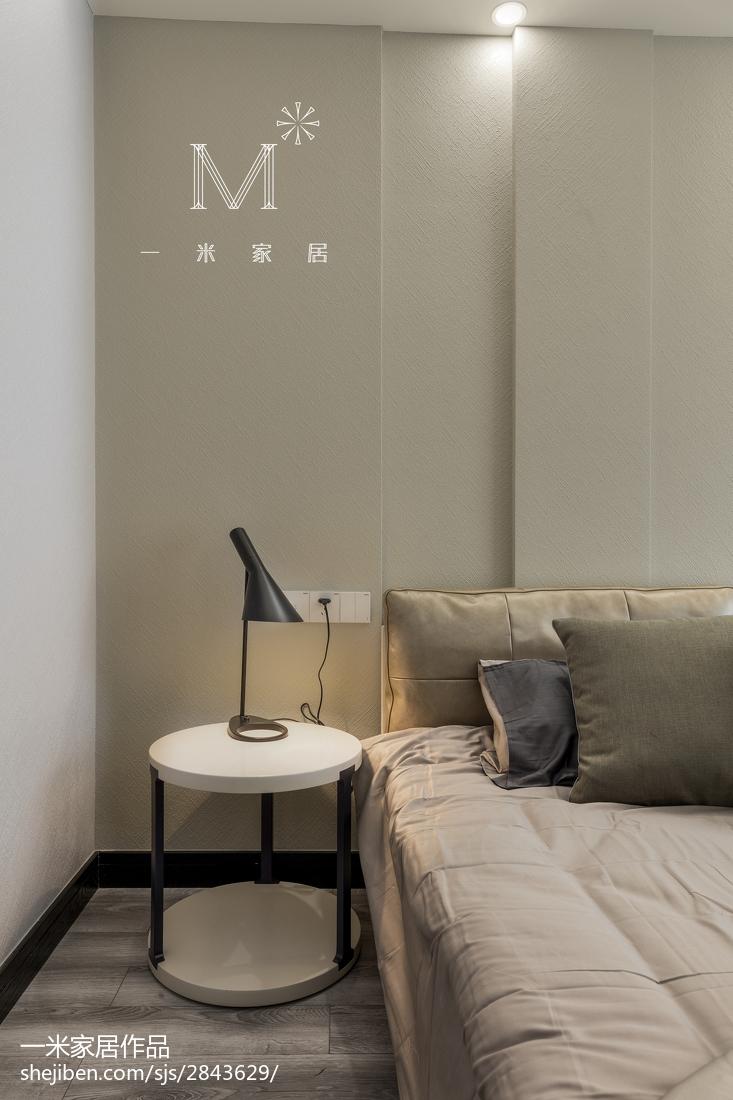 2019142平现代四居卧室设计图