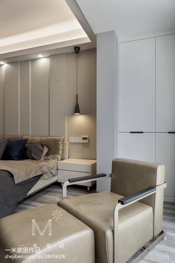典雅160平现代四居卧室装饰美图