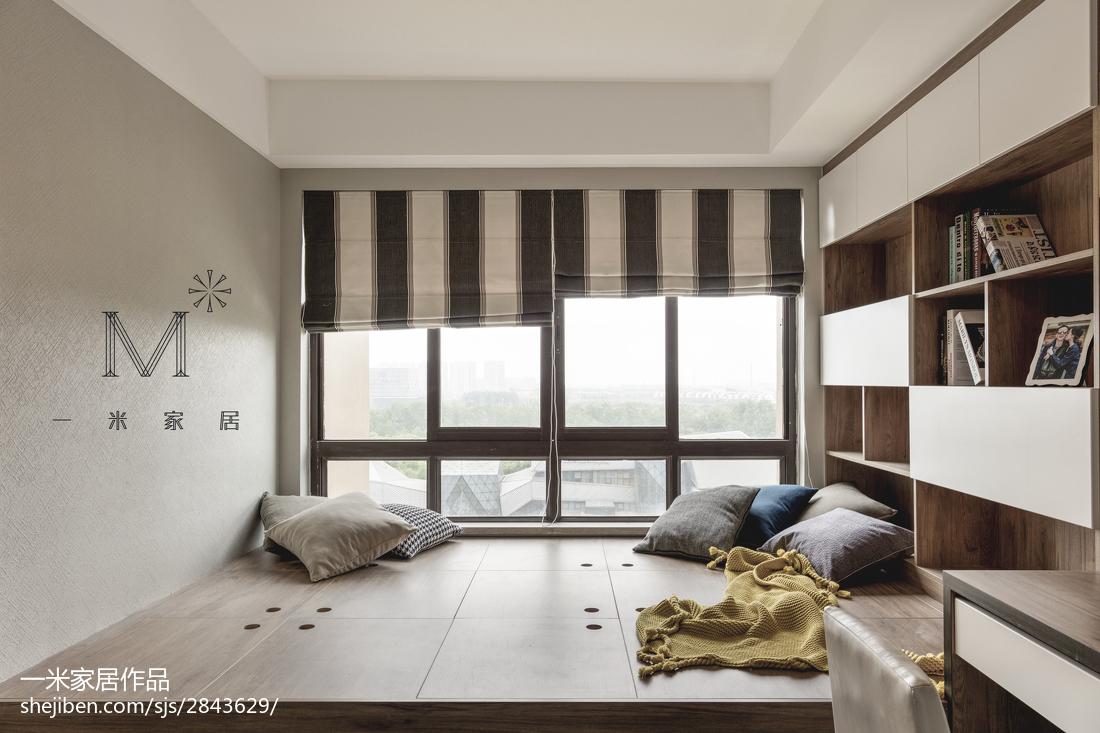 精美112平现代四居休闲区装修设计图