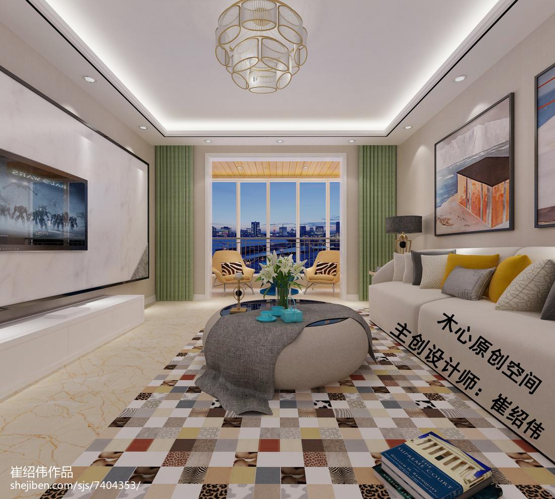 美式风格卧室室内设计装饰效果图片