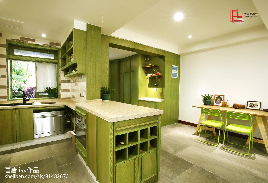 北欧装修厨房图片