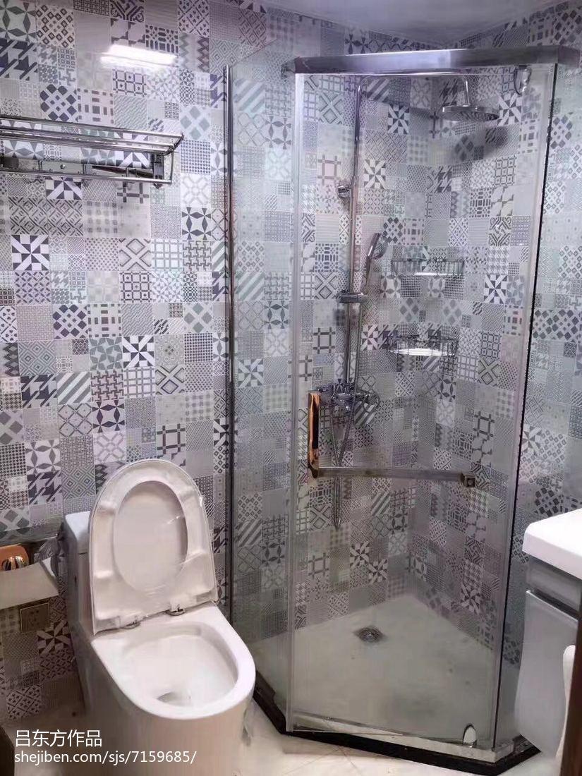 简约风格现代装潢设计卫生间