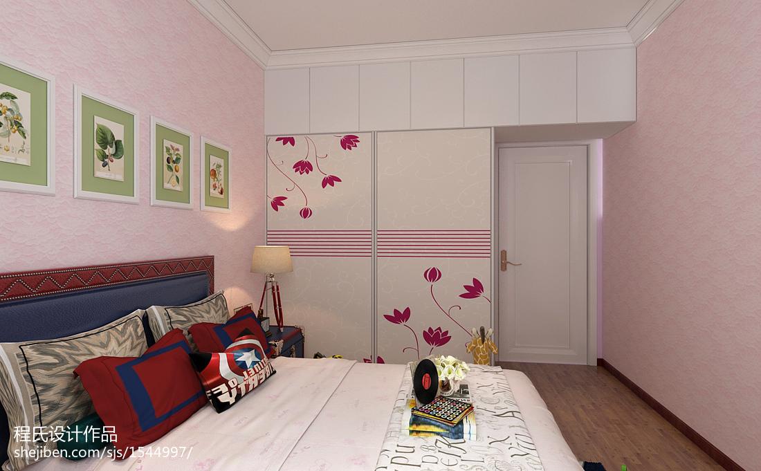 现代风格装修室内衣柜效果图片