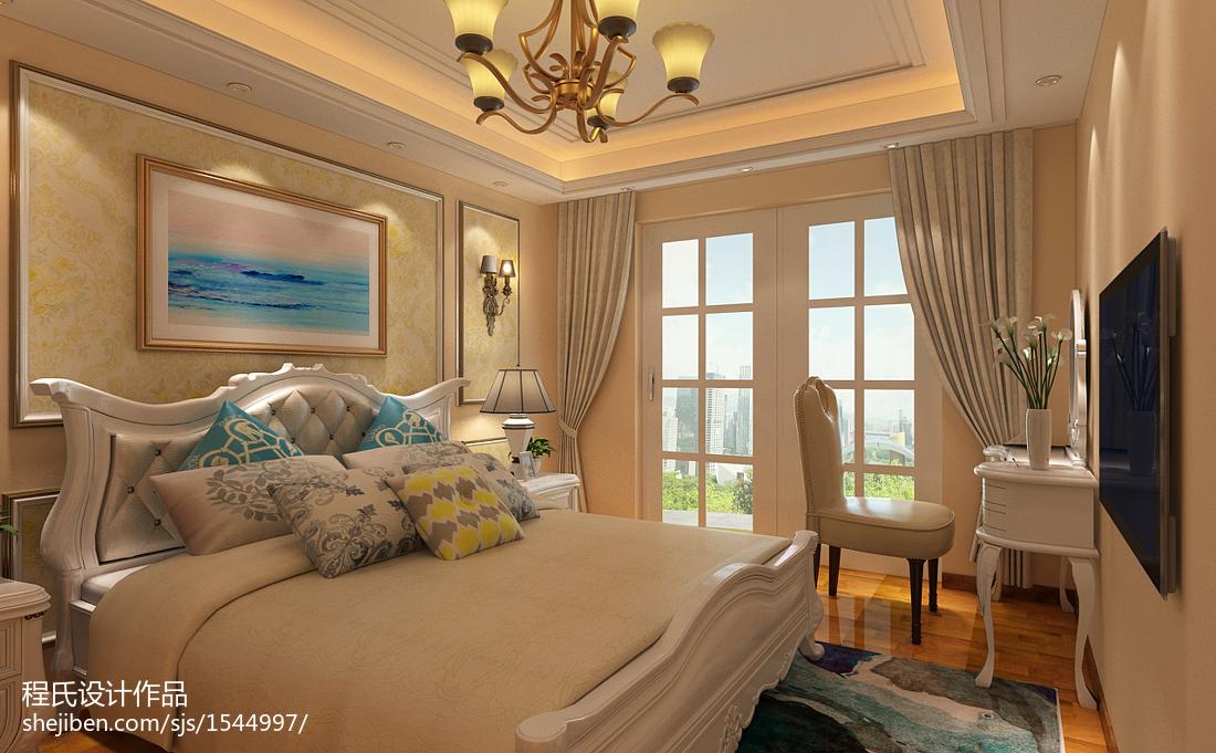 现代风格装修设计卧室室内效果图片