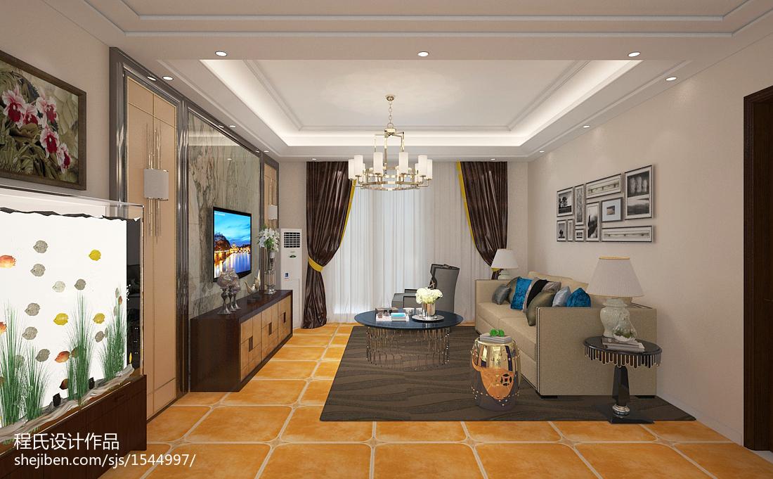现代风格装修客厅室内效果图片