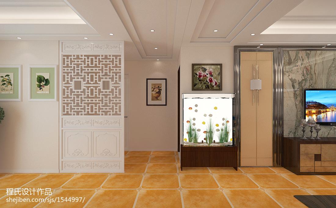 现代风格装修室内卫生间效果图片