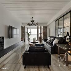 热门面积92平美式三居客厅装修效果图片大全