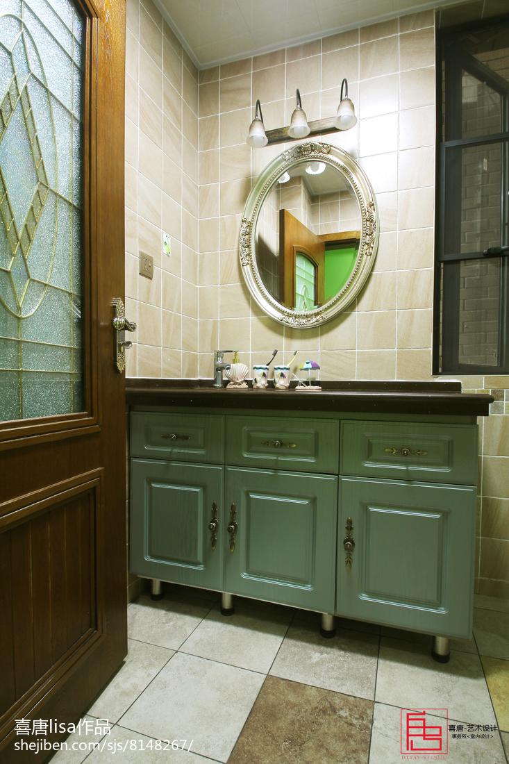 美式复古卧室设计装修效果图欣赏