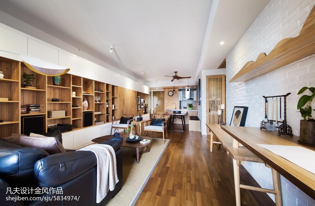 201897平米三居客厅中式装修设计效果图片欣赏