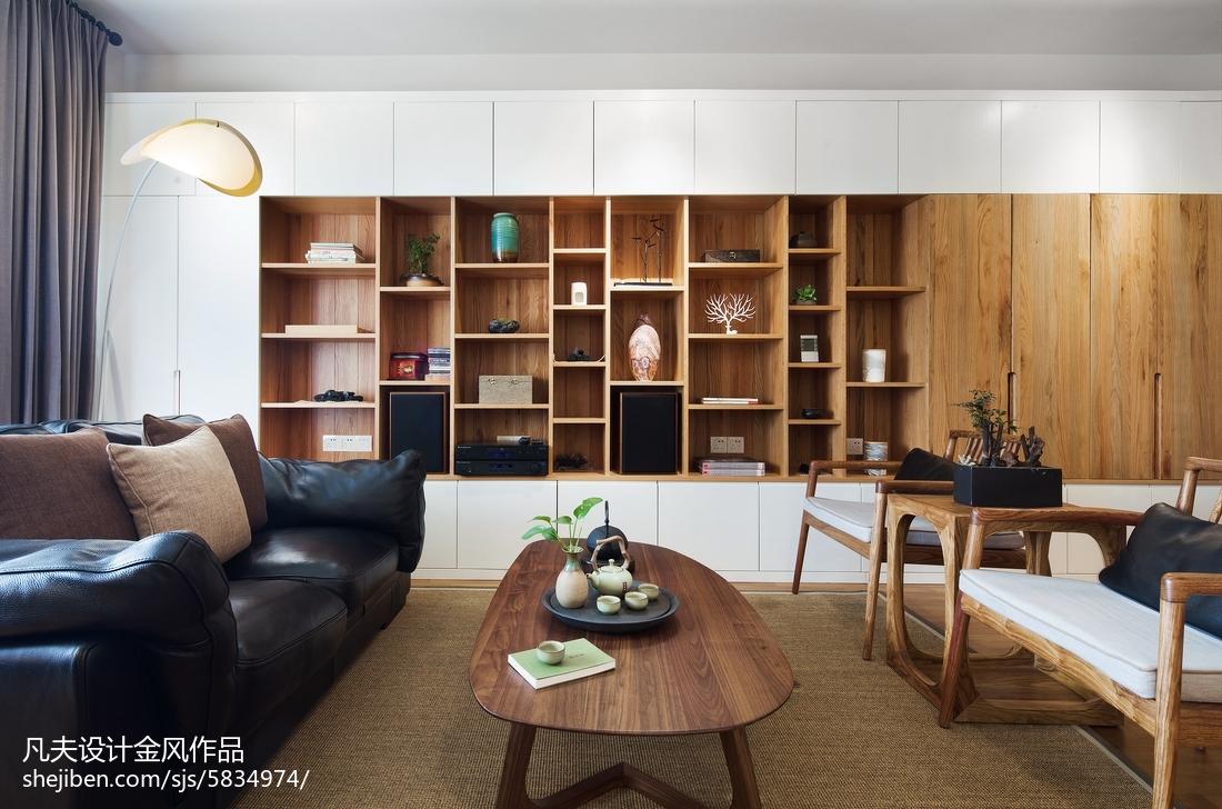 热门三居客厅中式装饰图片大全
