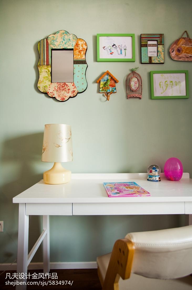 精美中式三居儿童房装饰图片大全