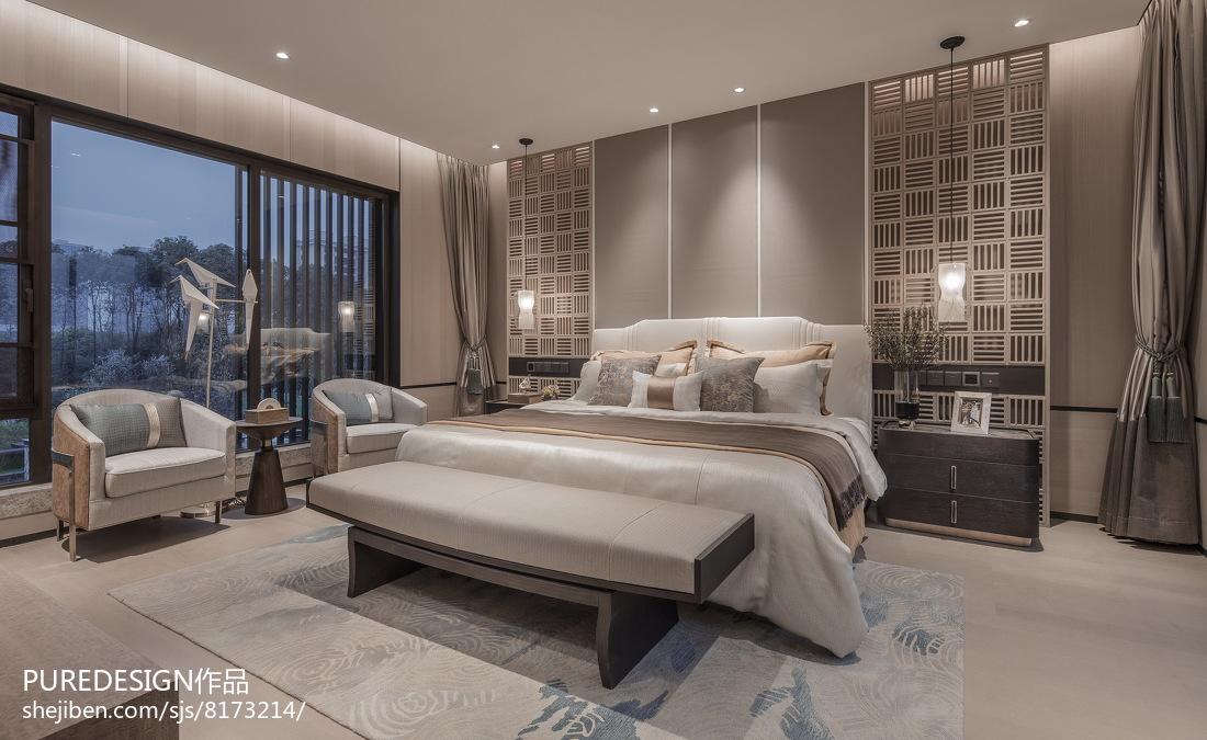 2018别墅卧室中式装修图