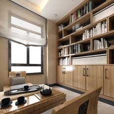 201883平米新古典小户型书房装修实景图片欣赏