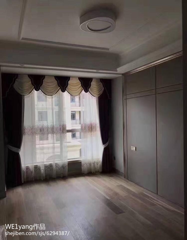 欧式风格长书房装修图