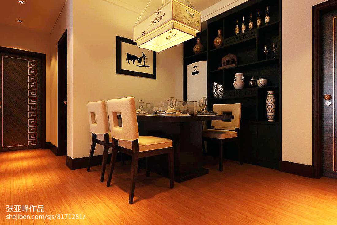 简欧复古风格时尚设计四居室装修效果图