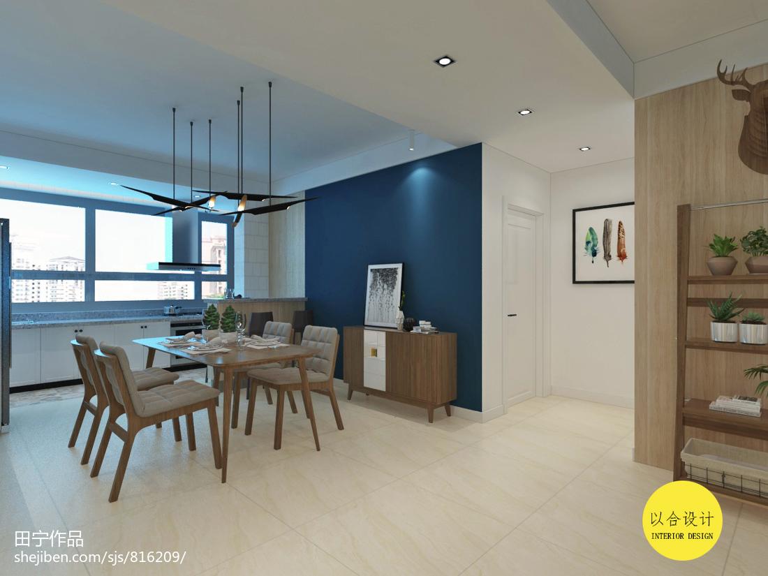 复古高贵美式客厅设计