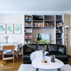 现代二居客厅设计图