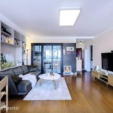 现代二居小客厅设计图
