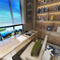 两室两厅书房装修效果图片