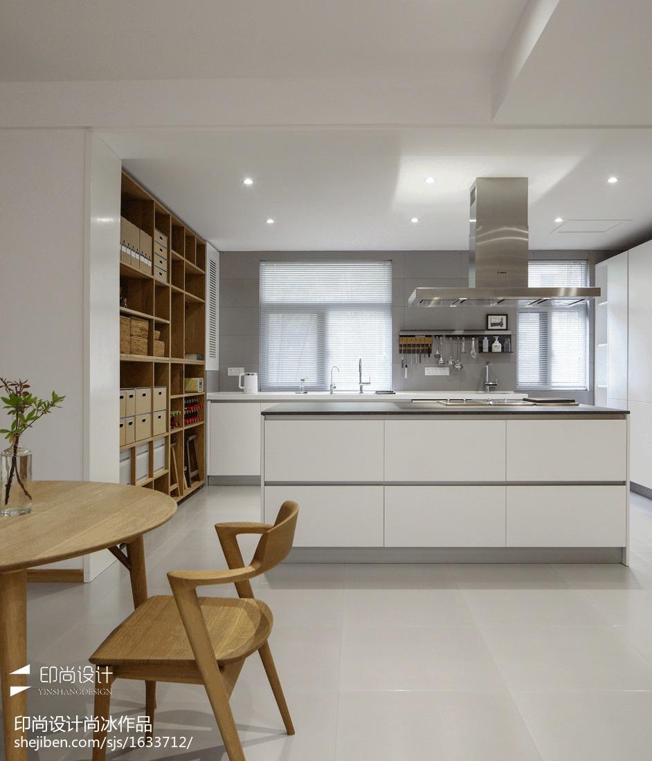日式四居厨房设计图