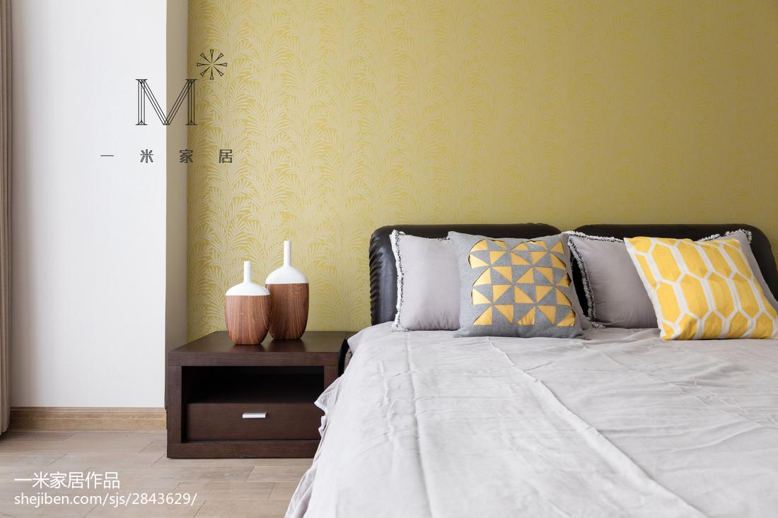 精选100平米三居卧室现代效果图片大全