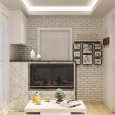 客厅玄关造型效果图