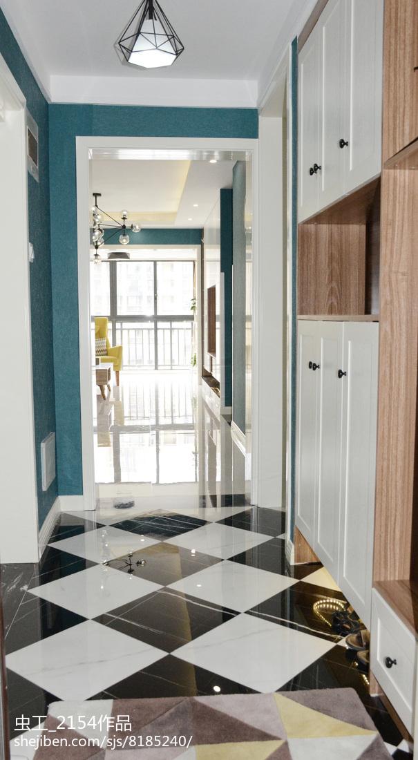 欧式时尚设计别墅室内卧室图片