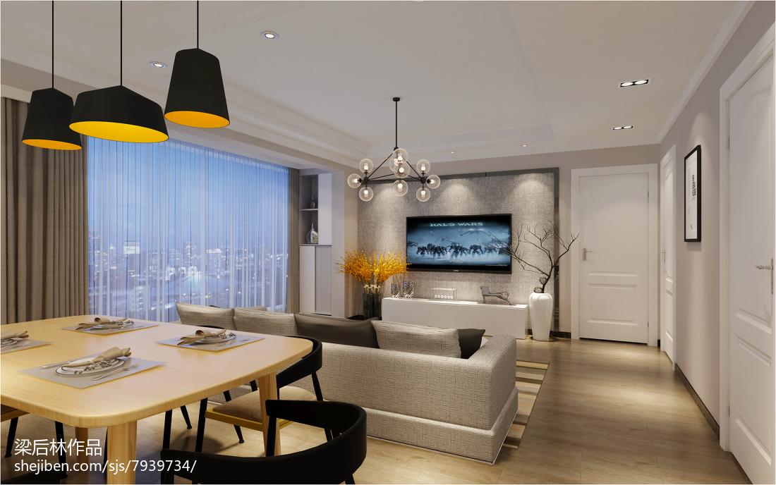 浪漫轻美式设计客厅