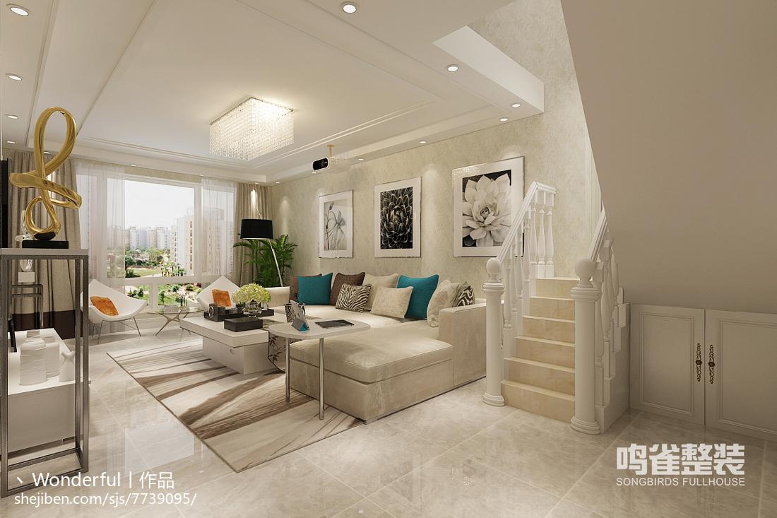 现代简约公寓室内书房设计图片